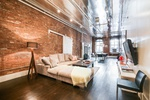 True SOHO 2 Bed/1.5 Bath Loft, with In-Unit Laundry and beautiful Finishes throughout! AMAZING Space!